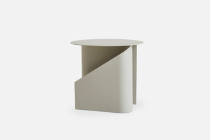 Woud | Sentrum Side Table - Warm Grey