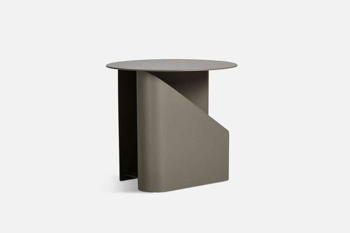 Woud | Sentrum Side Table - Taupe