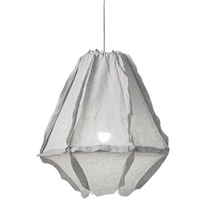 Cumulus Linen Pendant Light / Willow