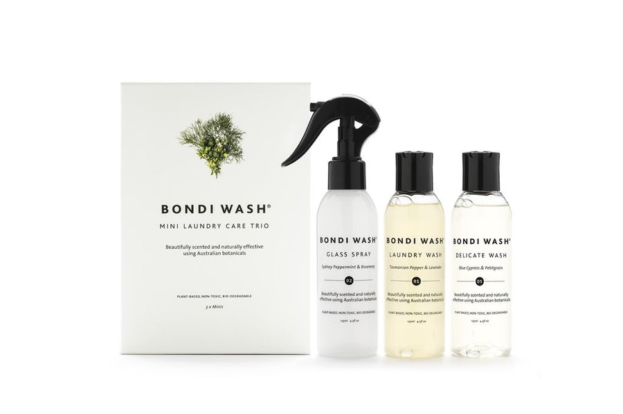 Bondi Wash | Mini Laundry Care Trio