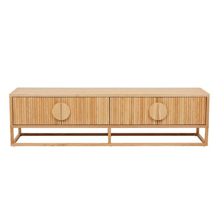 Benjamin Ripple Entertainment Unit - Natural Ash