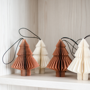 Nordic Rooms | Brandy Rose Paper Tree Ornament