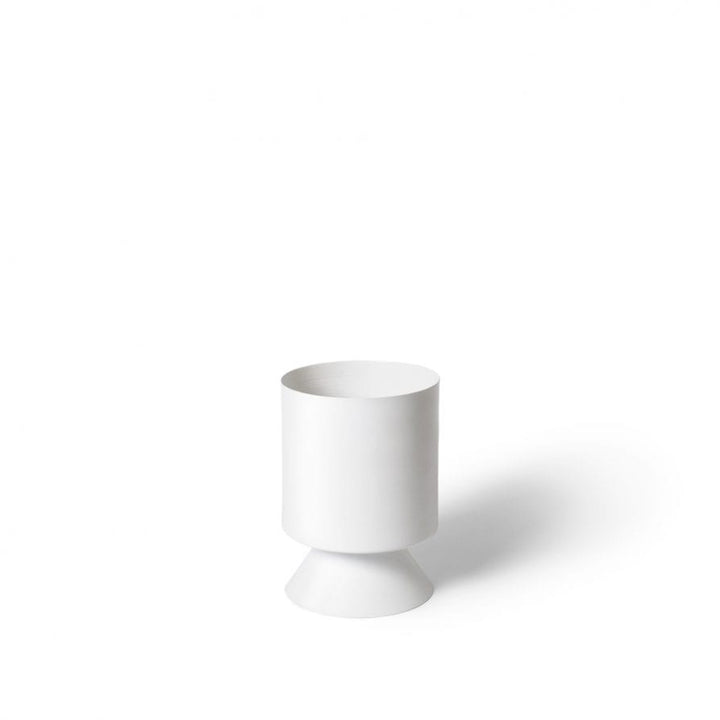 Palm Springs Planter Small - WHITE
