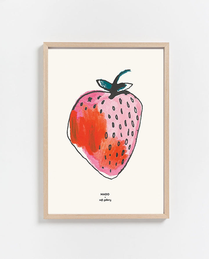 Paper Collective | Strawberry Print 30 x 40cm