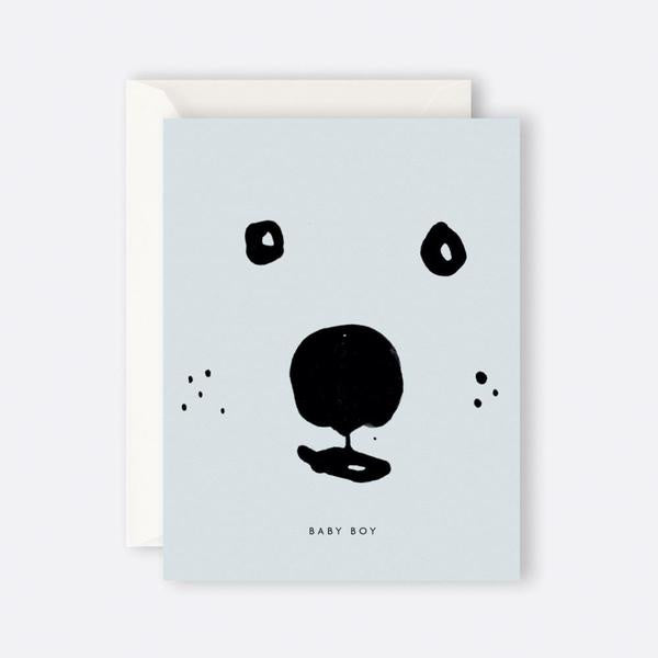 Card - Baby Boy Bear