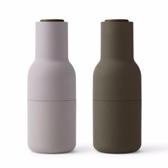 Menu Bottle Grinders- Hunting Green/ Beige