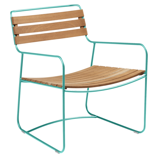 FERMOB | Surprising Teak Low Arm Chair