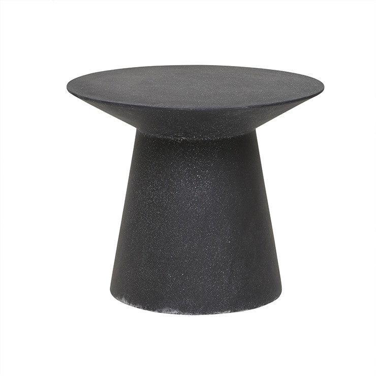 GlobeWest | Livorno (Outdoor) Round Side Table - Black Speckle