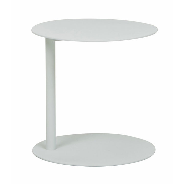 Aperto Ali Round Side Outdoor Table - White