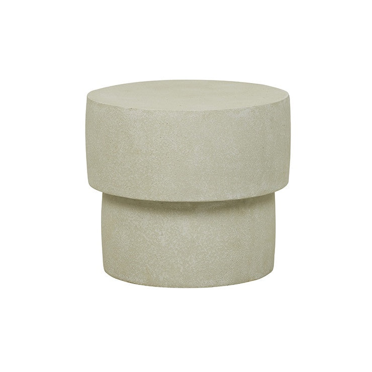 Livorno Boulder Side table - Grey Speckle