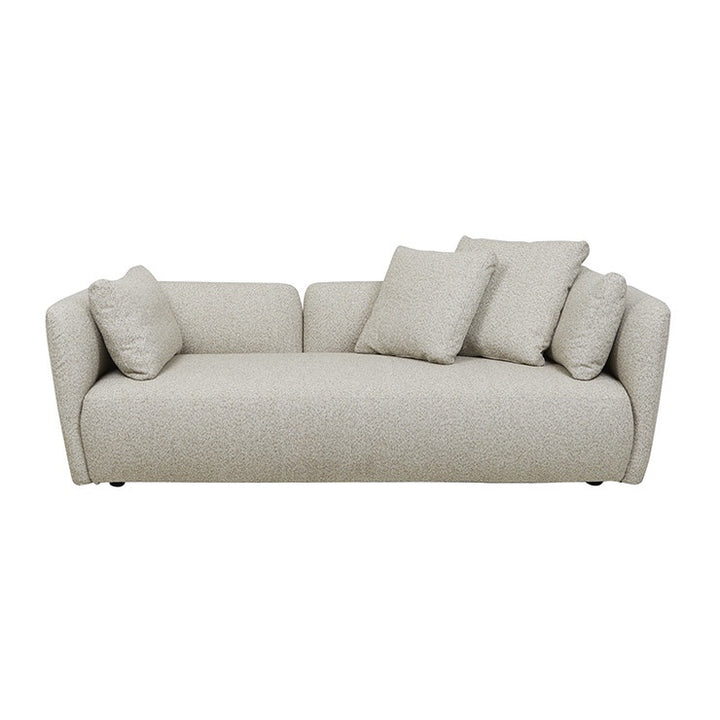 Felix Pebble 3 Seater Sofa - Biscuit Tweed