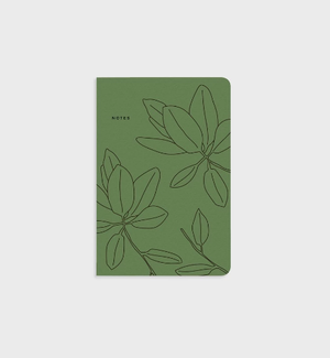 Note book - Green Leaves
