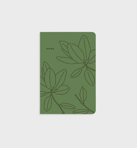 Father Rabbit | Notebook - Green Leaves