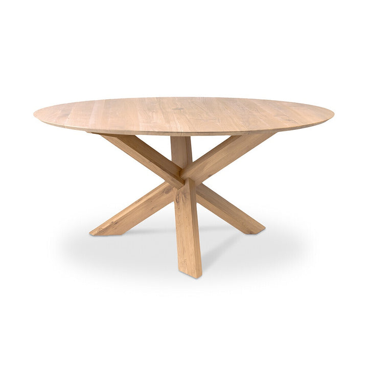Ethnicraft | Oak Circle Round Dining Table