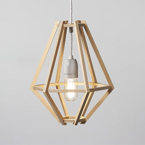 Cumulus Nude Pendant Light / Natural Ply