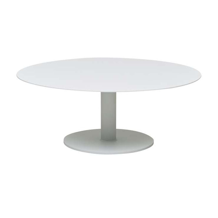 Aperto Ali Round Coffee Table - WHITE