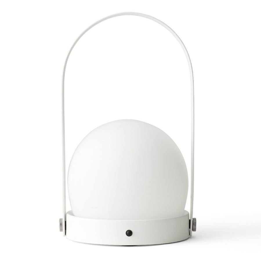 Carrie LED Lamp - White/White