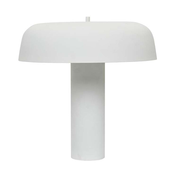GlobeWest | Easton Canopy Table Lamp - White
