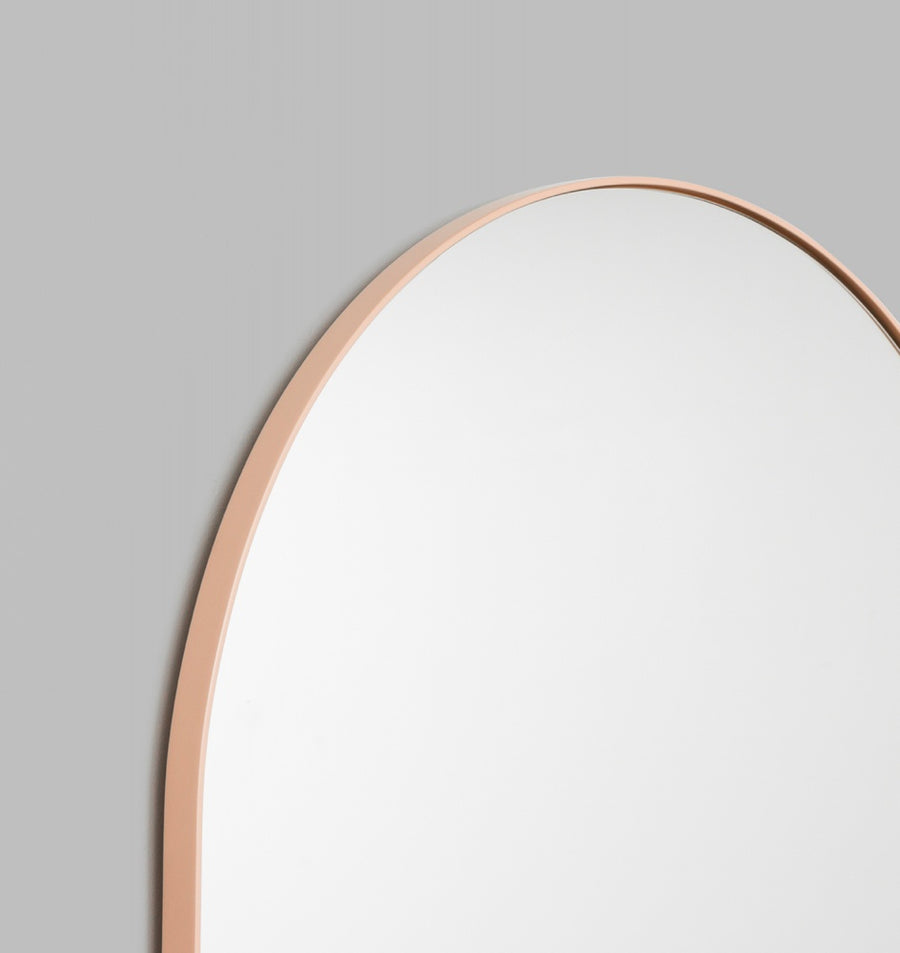 Bjorn Arch Floor Mirror - 80x180cm Powder