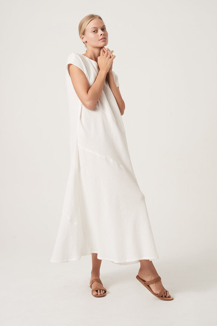 The Viva Dress - White