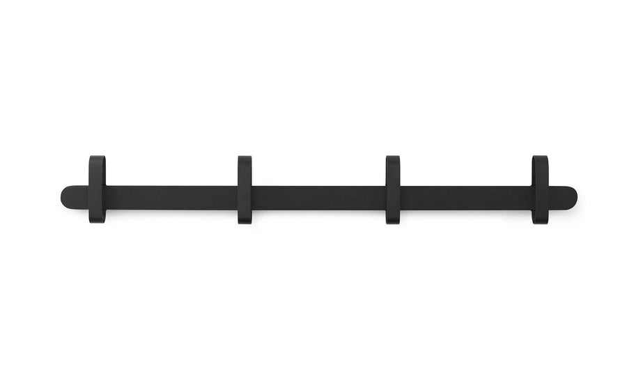 Hoop Coat Rack -  Black