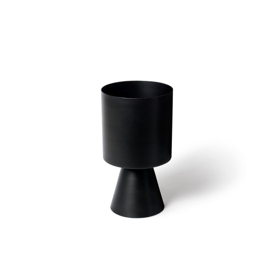 Palm Springs Planter Medium- BLACK