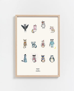 Paper Collective | All together Now Print 50 x 70cm