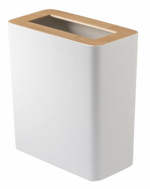 Rin Rubbish Bin - Square White