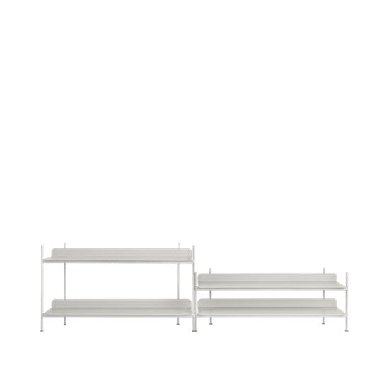 Muuto | Compile Shelving System- Configuration 5