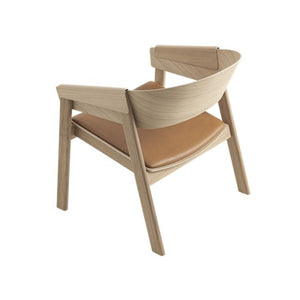 Muuto | Cover Lounge Chair - Leather Seat