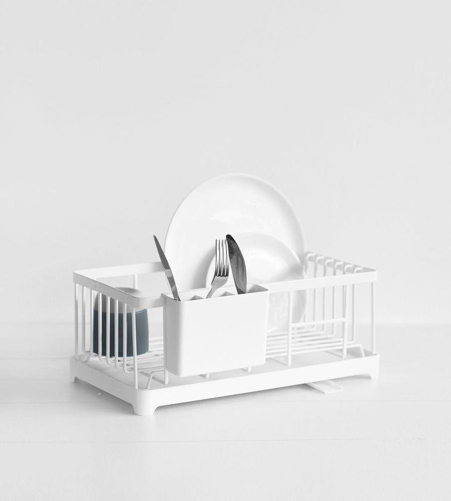Tower Sink Drainer - White