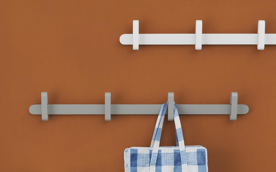 Hoop Coat Rack - White