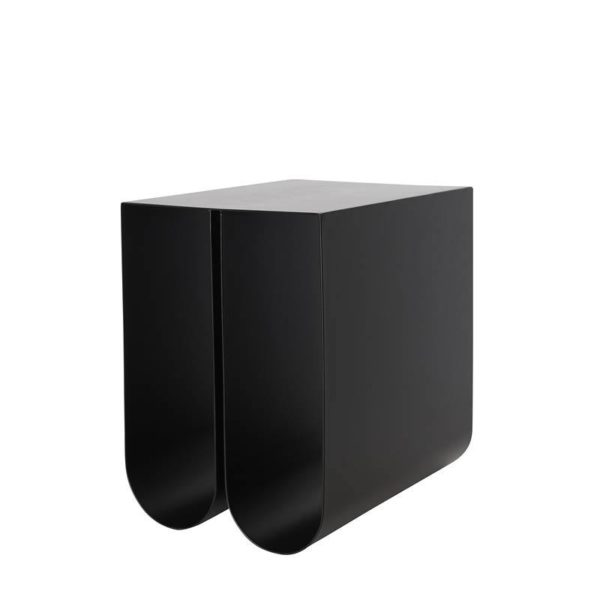 Kristina Dam | Curved Side Table - Black