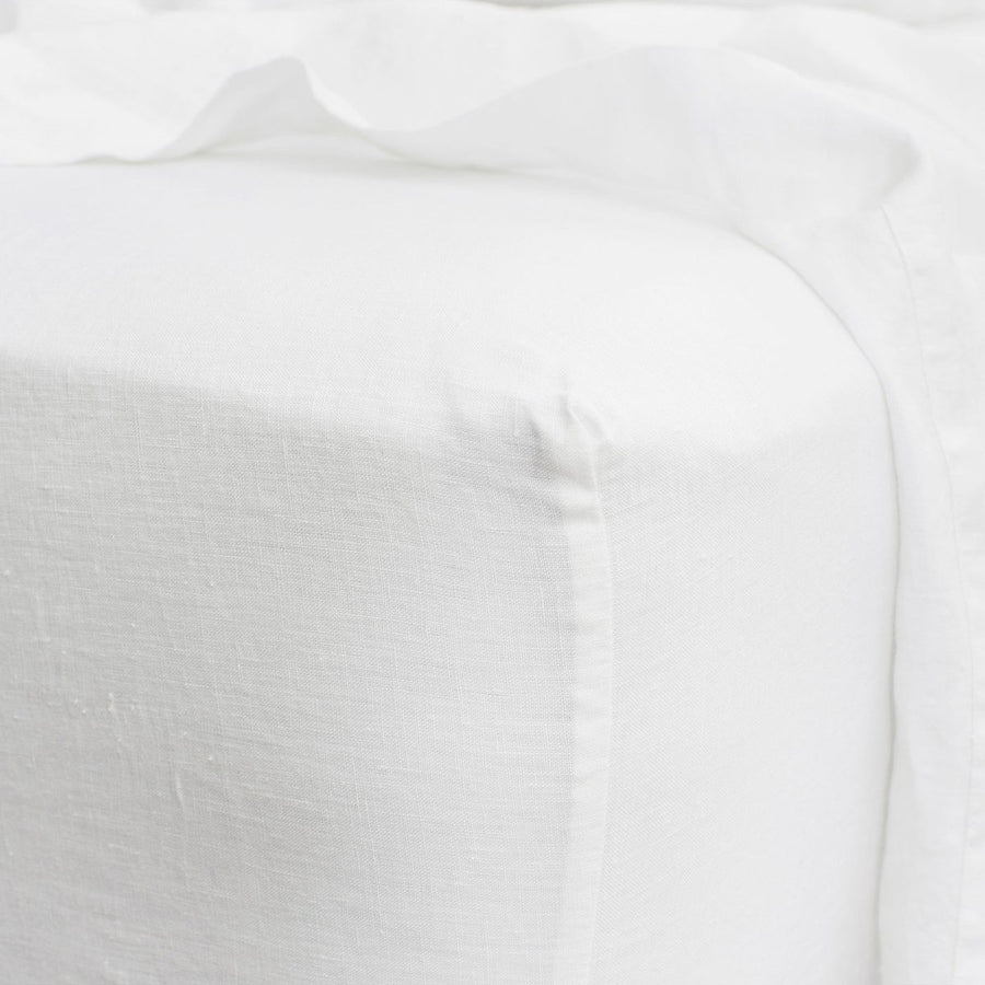 Cultiver | Linen Fitted Sheet