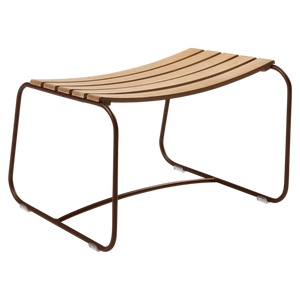 FERMOB | Surprising Teak Footrest