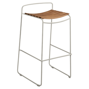 FERMOB | Surprising Teak Bar Stool