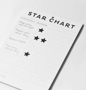 Father Rabbit | Star Chart A4