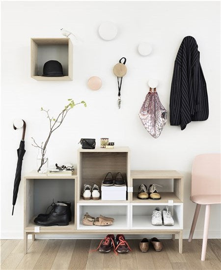 Muuto | Dots Wood - White