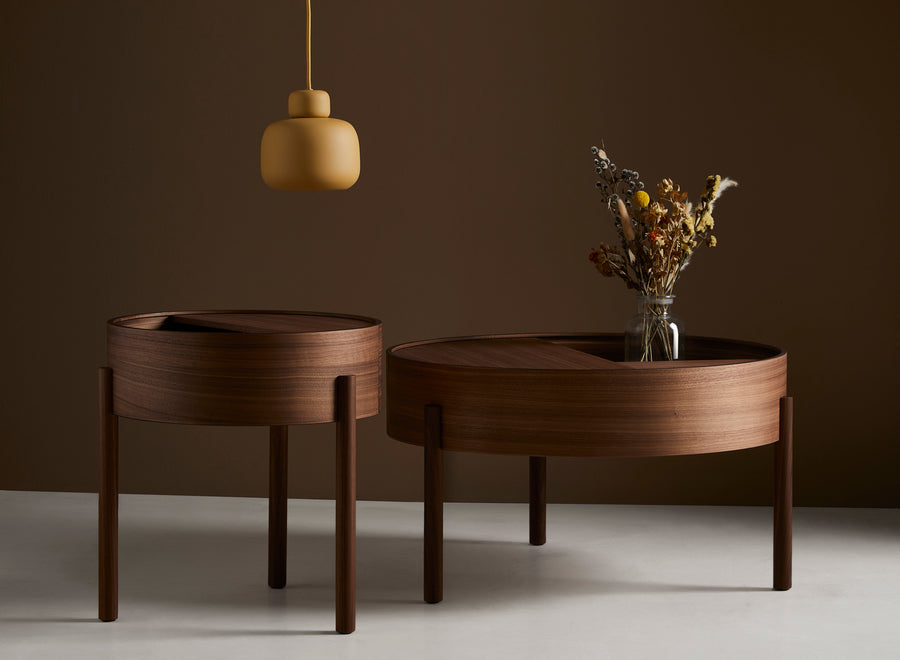 Woud | Arc Side Table - Walnut