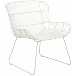 Granada Butterfly Outdoor Occasional Chair - White