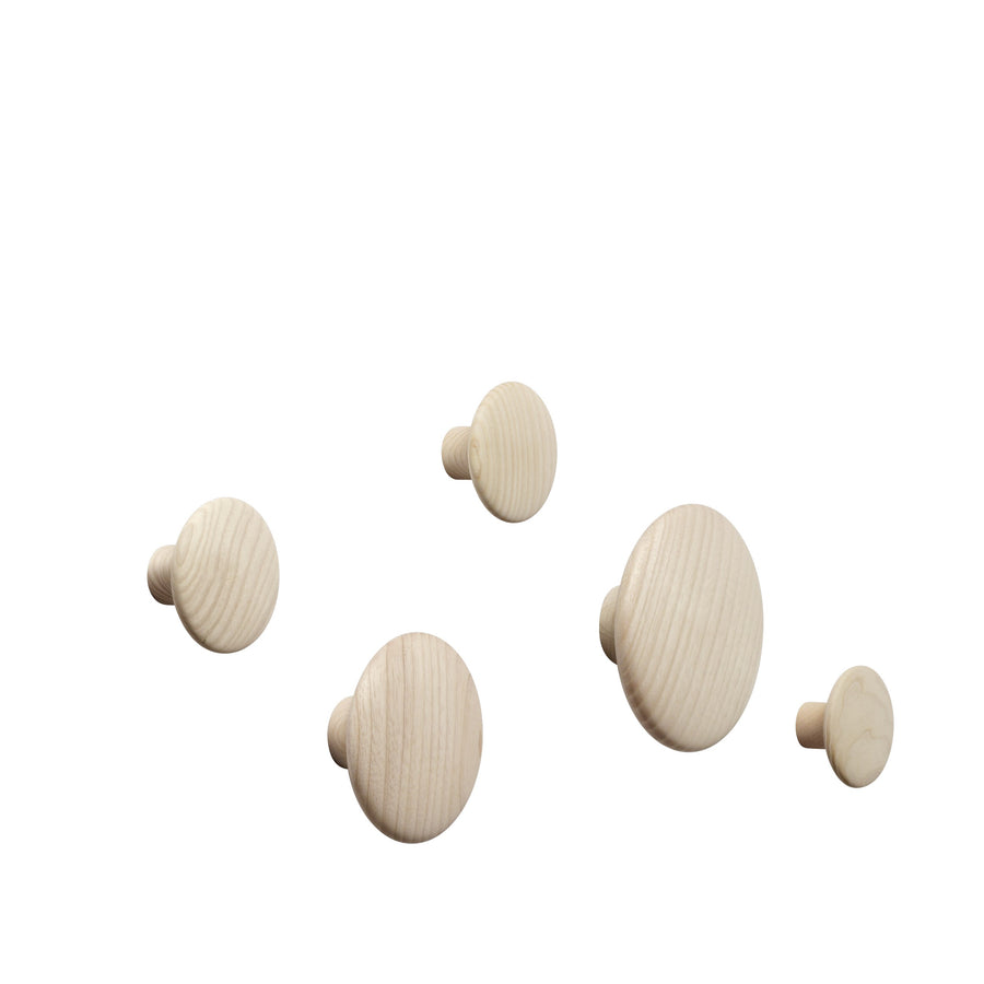 Muuto | Dots Wood (set of 5) - Oak