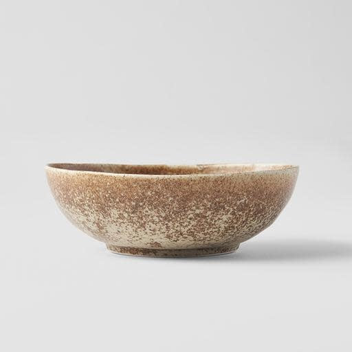 Sand Fade Oval Bowl Small