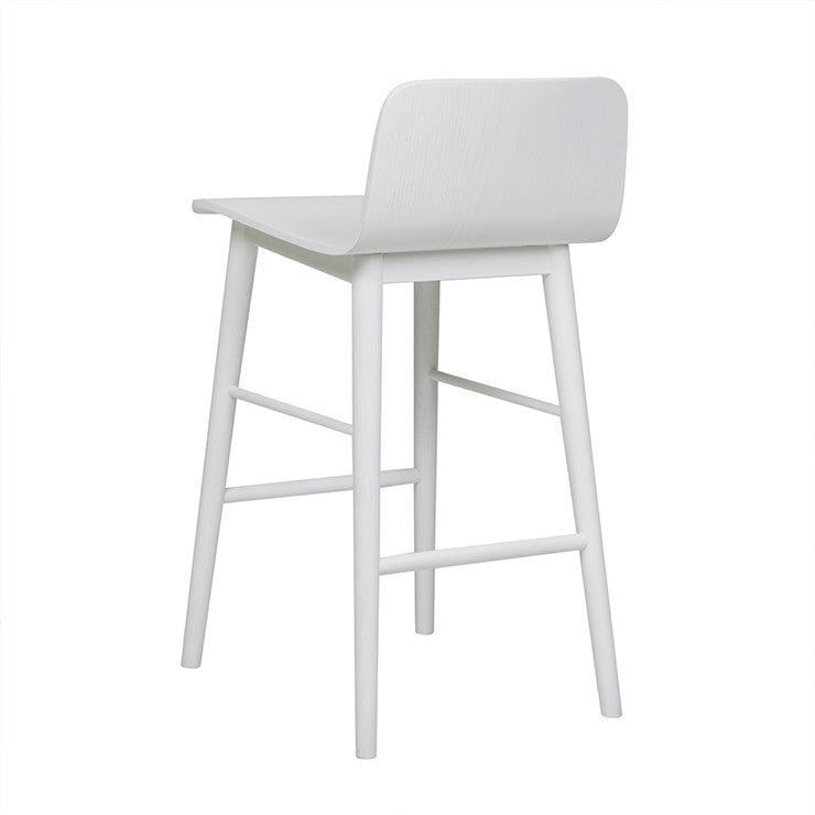 GlobeWest | Sketch Tami Barstool - White
