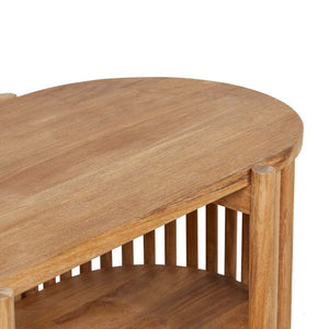GlobeWest | Tully Buffet - Natural Teak