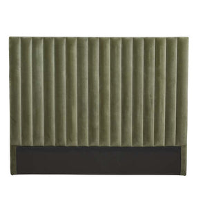 GlobeWest | Kennedy Tufted Bedhead - Olive Green