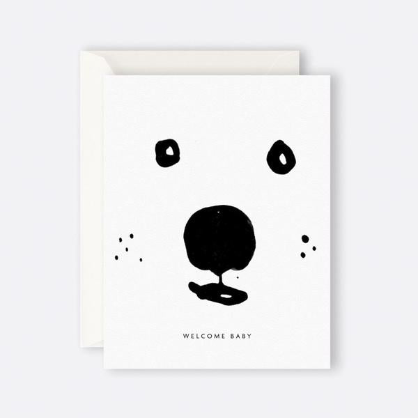 Father Rabbit | Card - Welcome Baby Bear