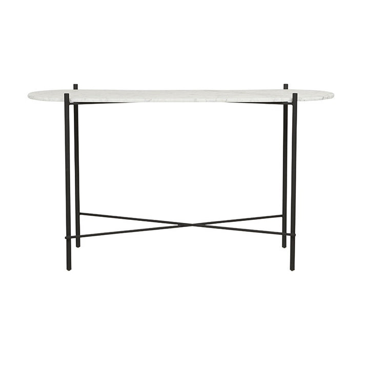 GlobeWest | Elle Pipe Oval Console