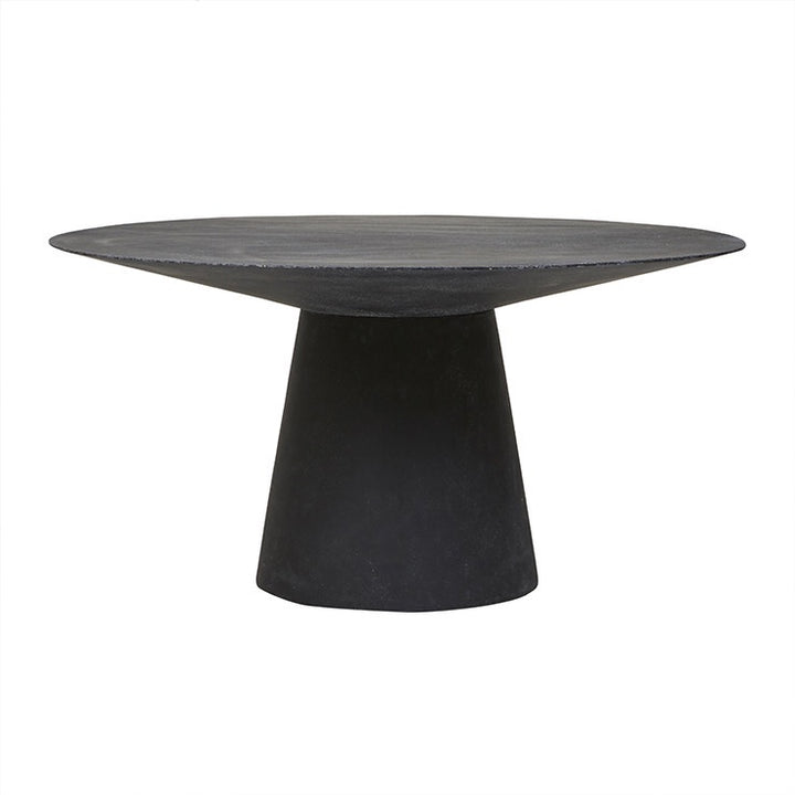 Livorno (Outdoor) Round Dining Table - Black Speckle