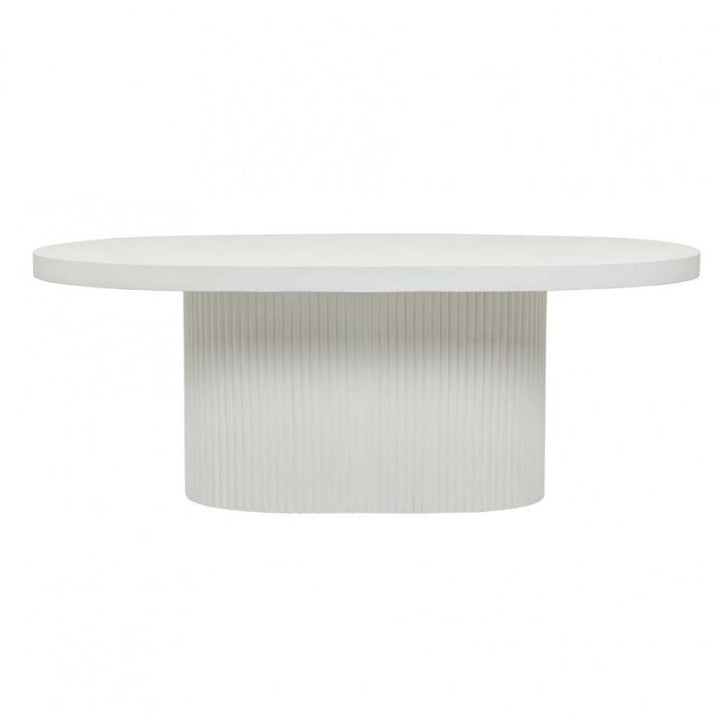 GlobeWest | Ossa Ribbed Dining Table