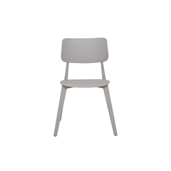 Stellar Stackable Outdoor Dining Chair - Grey